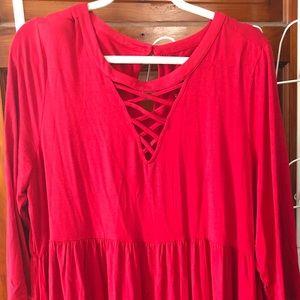 EUC super soft Torrid blouse size 1